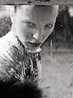 Portrait Photography by Tom Hoops - Wet Girl Portrait Photo - Rather Surreal