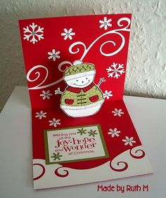 this is so cute... would like to try and make this for a card next year.