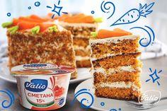 Морковный торт — пошаговый рецепт приготовления с фото в домашних условиях Recipes, Food, Recipies, Essen, Meals, Ripped Recipes, Yemek, Cooking Recipes, Eten