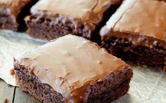Cele mai bune negrese cu crustă de ciocolată