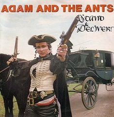 "Adam And The Ants ""Stand and Deliver"" sleeve"