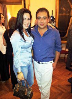 Con Designer Elvio Acevedo... Moda Argentina