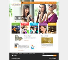 The District Mall by Abdel Aziz Ahmed, via Behance