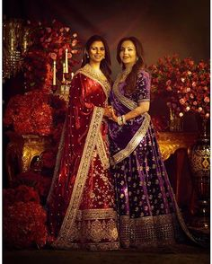 Isha Ambani Piramal ( wears a custom velvet lehenga from our zardosi revival series in silver, salma-sitara, dabka and bullion; keeping traditions of yore alive in their purist form. Photo Courtesy: Tarun Vishwa Wardrobe by Makeup: Hair: Indian Wedding Gowns, Indian Bridal Fashion, Indian Dresses, Indian Weddings, Pakistani Outfits, Indian Outfits, Sabyasachi Lehenga Bridal, Bridal Lehenga Collection, Ghaghra Choli