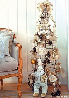 Ангелочки из пенопластовых шариков для новогодней елочки (1) (476x679, 223Kb)