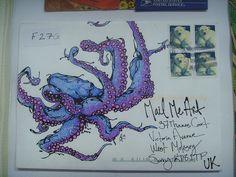 Mail Me Art exhibition - Erin Inglis by Queenie & the Dew, via Flickr