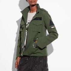 COACH M65 Jacket - Women s M65 Jacket 0d00bbc80