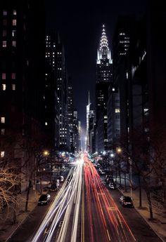 Thursday night - New York City Street Light Fantastic.