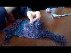 Rescues for Rigid Heddle Weavers - YouTube