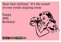 Happy Birthday 40 Funny 40th Wishes Jokes Cards