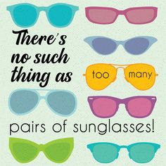 sunglasses quotes Theres no such thing as too many pairs of sunglasses. Check out our selection! Louis Vuitton Sunglasses, Cute Sunglasses, Summer Sunglasses, Mirrored Sunglasses, Eye Quotes, Small Acts Of Kindness, Beach Quotes, Optometry, Eye Protection