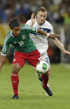 ~ Giovani dos Santos on the Mexico National Team against Italy in the 2013 Confederations Cup ~