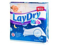 LayDry Kids Betteinlagen für Kinder mit Klebestreifen