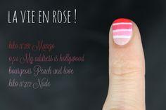 Dégradés du vendredi #8 rose - Friday's gradient pink