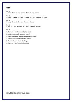 Working with Quantifiers (Revision exercises)