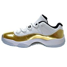 Air Jordan 11 Retro Low 'Closing Ceremony' - 528895 103, White/Mtlc Gold  Coin-Black