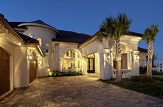 Sater Design Collections new home plan design to be featured in our upcoming Ultimate European Home Plans book....