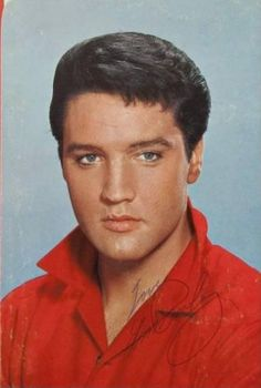 """Photo used on the 45rpm single sleeve of """"Kissin Cousins/It Hurts Me"""" (47-8307) - released in February 1964  