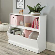 Sauder Bookcase, Kids Bookcase, Bookshelves, Bookcase White, Dollhouse Bookcase, Bookshelf Design, Baby Furniture Sets, Types Of Furniture, Kids Furniture