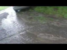 Potok deszczu w urodziny Jagody