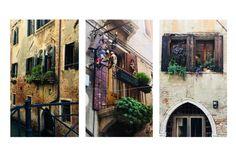 Balkon śródziemnomorski #balcon #aranżacje #balcony #terracce #taras #okna #windows #plants #kwiatki #doniczki #stylizacje #jakurzadzic #urzadzamy #architecture #italy #italien #venice #wenecja #streets