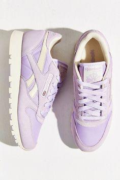 Reebok X UO Classic Nylon Lavender Pastel Running Sneaker