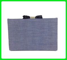 Kate Spade Evening Belles Carrie Clutch, Blue Chambray - Evening bags (*Amazon Partner-Link)