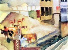 auguste macke en tunisie 1914