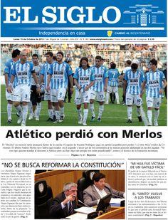 Diario El Siglo - Lunes 15 de Octubre de 20 12