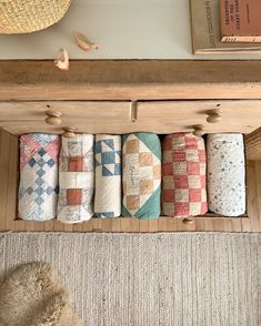 🌿 Or a quiltaway, if you will. Two winners! Two quilts! has the best collection and she drops new batches every… Quilt Display, Sparks Joy, Needle And Thread, Homemaking, Household Items, Decoration, Quilt Patterns, Sewing Projects, Crafty