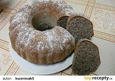 Sváteční maková bábovka recept - TopRecepty.cz Doughnut, Party Time, Muffin, Food And Drink, Sweets, Baking, Breakfast, Cake, Desserts