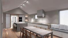 Tekening keuken | ontwerp: Michiel de Zeeuw