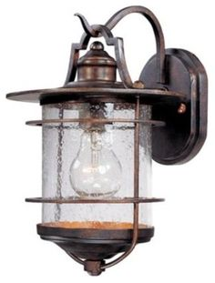 "Franklin Iron Works Casa Mirada 12"" High Outdoor Light - traditional - outdoor lighting - Lamps Plus"