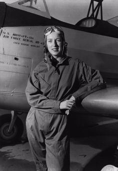 Cornelia Fort, 1941. Fort was a civilian instructor pilot at an airfield near Pearl Harbor, Hawaii, when the Japanese attacked on Dec. 7, 1941. She was killed on March 21, 1943 while ferrying BT-13 trainers in Texas, making her the first American woman to die on active military duty. She is pictured here with a PT-19A. Photo courtesy of the US Air Force.