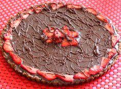 Strawberry Ganache Tart