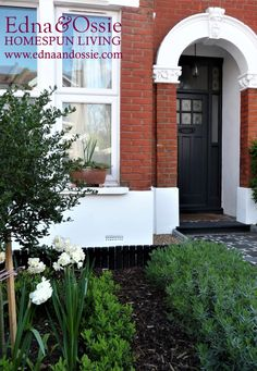 Creating Kerb Appeal. See blog for details. London Victorian tiled path.