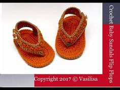 DIY baby booties crochet //Vasilisa - YouTube