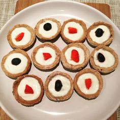 Strawberry, blueberry and yoghurt tarts for dogs from Organic BARKery