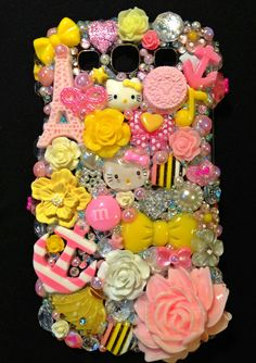 Pink Lemonade  Samsung Galaxy SIII Kawaii Phone by KreativeKoala, $50.00