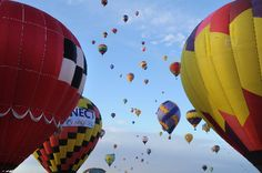 Albuquerque, New Mexico balloon feista- Someday! New Mexico, Photo Galleries, Balloons, October, Gallery, Heart, Image, Globes, Roof Rack