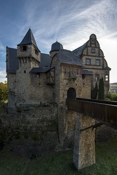 Upper Castle - Renaissance - Kranichfeld, Thuringia ~ Germany -