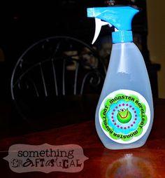 Use water instead. Monster Repellent.