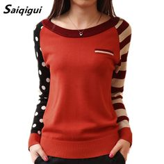 Cheap women sweater long sleeve, Buy Quality women sweater directly from China sweater long Suppliers: Saiqigui Candy Color New O-Neck Autumn Women Sweater Long Sleeve Pullovers Knitting Casual Sweaters pull femme sudaderas jumper Sweaters And Jeans, Casual Sweaters, Long Sweaters, Cardigans For Women, Jackets For Women, Clothes For Women, Pulls, Long Sleeve Sweater, Ideias Fashion