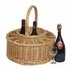 Garden Picnic Basket Complete with 12 Glasses is at a great price.  Visit - http://redhamper.co.uk/garden-picnic-basket-complete-with-12-glasses/  #drinksbaskets #shoppingbaskets