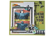 Bella Blvd Spooktacular Collection   Dementor Layout by Amy Heller