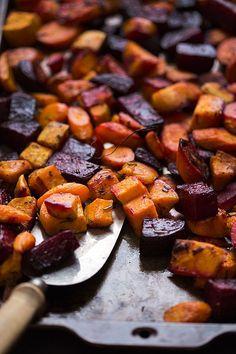 Roasted Root Vegetables by @Amy Jabara Palate slimpalate.com #paleo