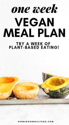 One Week Vegan Meal Plan - Ever wonder what a week of plant-based eating looks like? Try this one week vegan meal plan to experience a plant-based diet. via meal planning One-Week Vegan Meal Plan Plant Based Meal Planning, Plant Based Eating, Plant Based Diet, Plant Based Recipes, Vegan Meal Plans, Vegan Meal Prep, Diet Meal Plans, Vegan Weekly Meal Plan, Whole Food Recipes