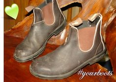 #yourboots My hubby got these for me a long time ago..he got mens, but I love(d) them anyhow. They have seen better days, but lots of wear left! #yourboots