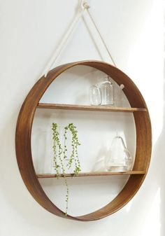 Bride & Wolfe circle shelves