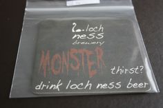 2013 Beermat Loch Ness Brewery (Scotland) Cat 006 (1R64) 7/14